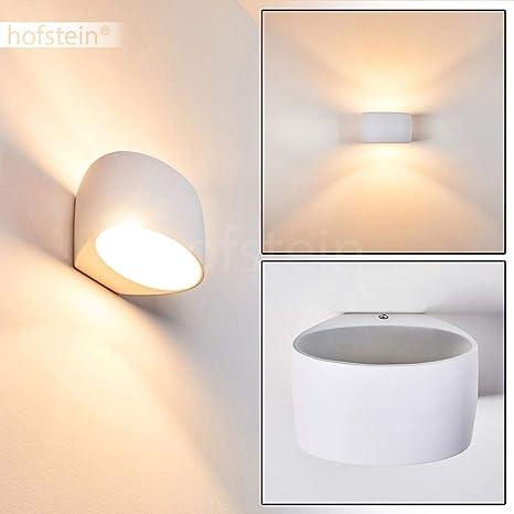 Wohn Schlaf Zimmer Leuchten bemalbare Keramik weiß Wand