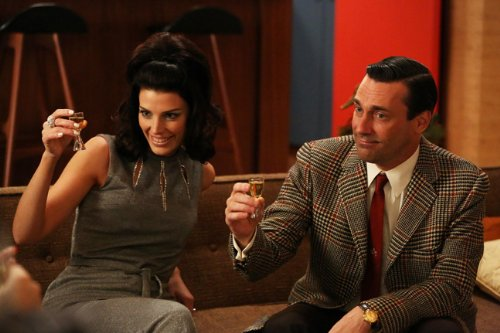 Mad Men Don Megan Draper 14 x 11