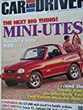 1995 Porsche 911 Turbo / Chevy Chevrolet Tahoe / Infiniti I30 / Buick Regal / Honda Accord / Nissan Maxima / Toyota Camry / VW Volkswagen Passat / Volvo 850 / Pontiac Grand Am GT / Toyota Tercel Road Test