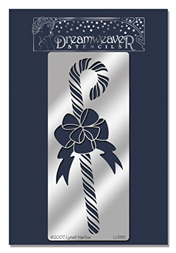 Price comparison product image Stampendous Dreamweaver Metal Stencil, Candy Cane