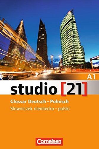 Studio [21] - Grundstufe: A1: Gesamtband - Glossar Deutsch-Polnisch