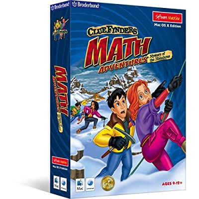 ClueFinders Math Adventures - Mystery of the Himalayas - Mac