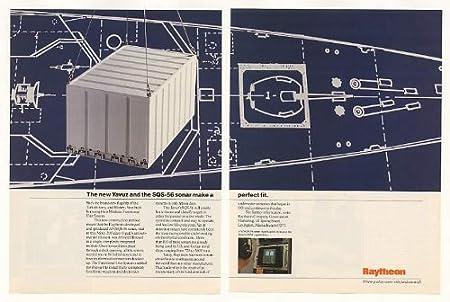 1989 Raytheon SQS-56 Sonar Tur...