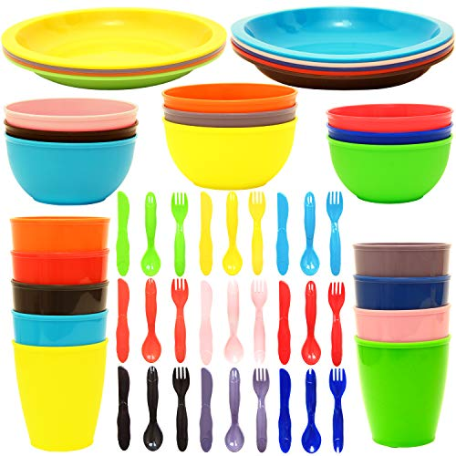 Youngever Plastic Dinnerware Flatware Assorted product image