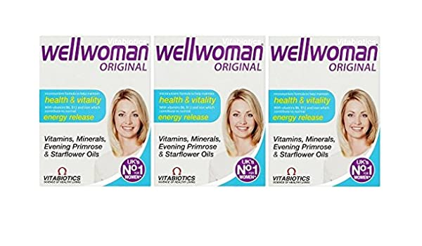 Amazon.com: Vitabiotics Wellwoman Original Vitamin & Mineral Supplement | 30s | BUNDLE by Vitabiotics: Health & Personal Care