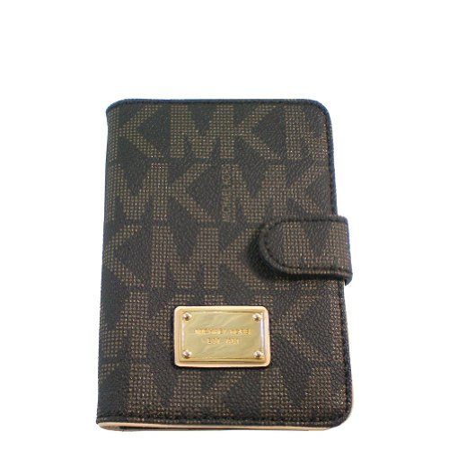 Michael Kors Jet Set Passport Case (Brown)