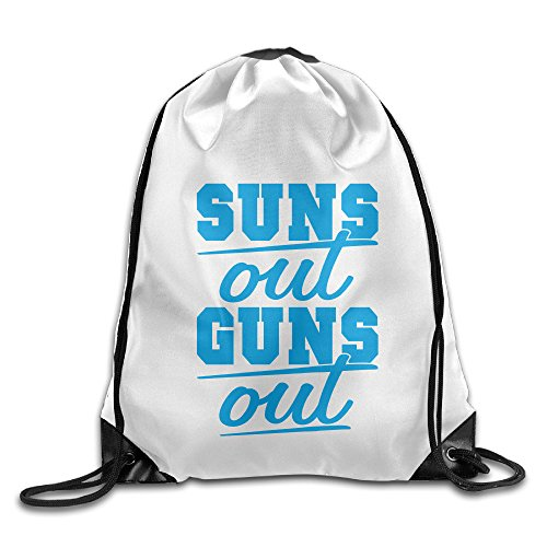 Bekey Sun's Out Guns Out Gym Drawstring Backpack Bags For Men & Women For Home Travel Storage Use Gym Traveling Shopping Sport Yoga - Nick Sunglasses Jonas