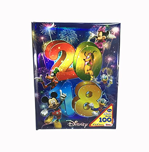 Disney Exclusive 2018 Mickey & Gang Photo Album Holds 100 Photo Size Up To 4