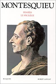 Pensées par  Montesquieu