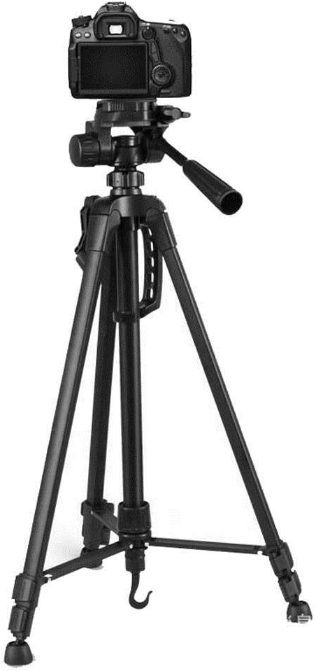 Color : Black, Size : One Size Aiyawear Stick Tripod Travel Outdoor Aluminum Alloy Foldable Protable Photography Tripod for Camera DV Camcorder