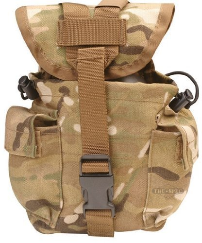 5ive Star Gear Molle 1QT Canteen Pouch, - Canteen Universal