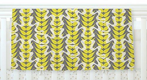 KESS InHouse Miranda Mol Whirling Leaves Fleece Baby Blanket 40 x 30 [並行輸入品]   B077ZMXZFX