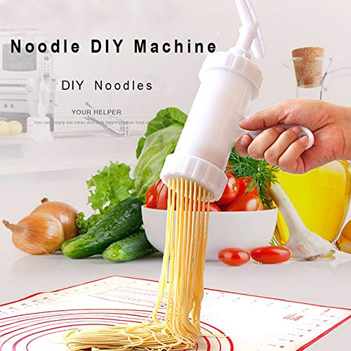 Wuudi Home Hand Manual Noodle Cutter Noodles Press Machine Pasta Maker Kitchen DIY Machine