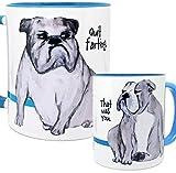 Farting English Bulldog Mug by Pithitude