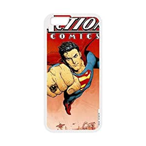 Action Comics 002 iPhone 6 Plus 5.5 Inch Cell Phone Case White TPU Phone Case RV_615655