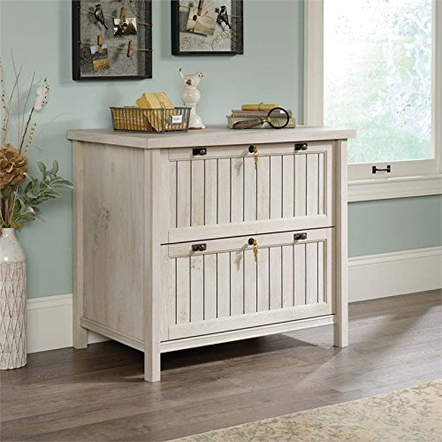 Sauder Costa Lateral File in Chalked Chestnut