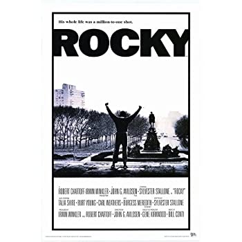 Amazon.com: Pop Culture Graphics Rocky 27x40 Movie Poster ...