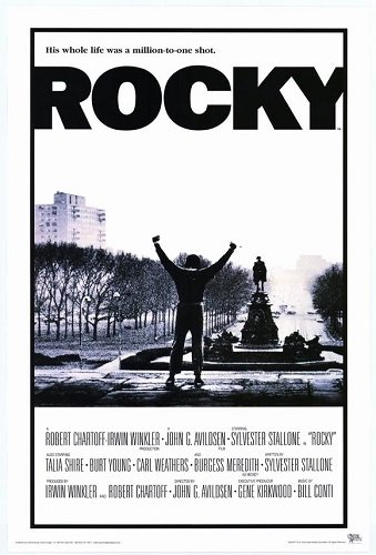 Pop Culture Graphics Rocky 27x40 Movie Poster