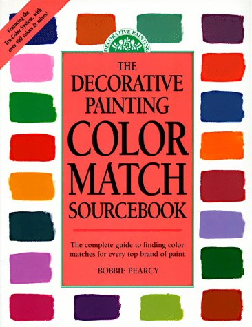 Decorative Painting Color Match Sourcebook from Brand: FnW Media, Incorporated