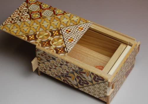 Caja secreta japonesa koyosegi, 4 SUN, 12 pasos para abrirla ...