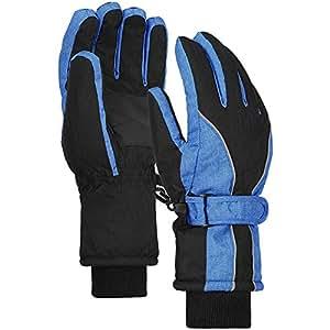 Amazon.com : Terra Hiker Waterproof Winter Warm Ski Gloves