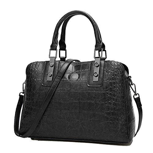 Pour De Top Design De à Black Les Mode à MainSacs Handle Sacs à Main BandoulièreElegant Sac FemmesSac OqA0I0