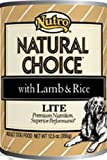 Natural Choice Dog Lite Cans, 12-1/2-Ounce, 12 pack cans, My Pet Supplies