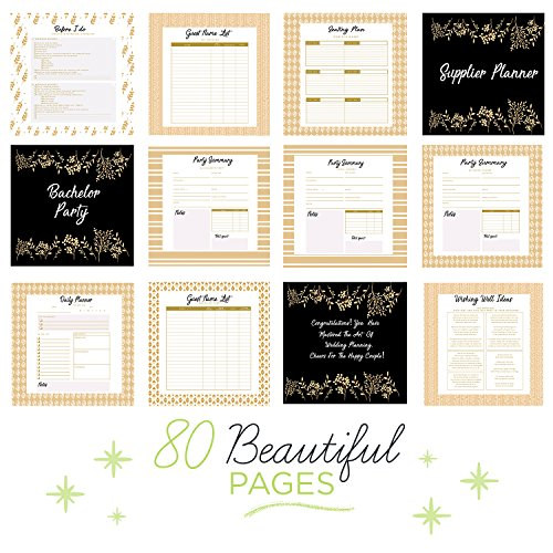 Complete Wedding Checklist: The Perfect Wedding Planner & Organizer With Stickers. A