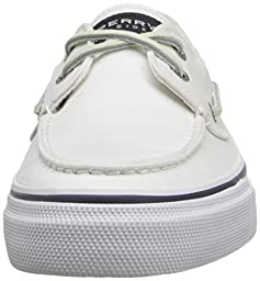 Sperry Top-Sider Men\'s Bahama 2-Eye White Boat Shoe 7 Men US