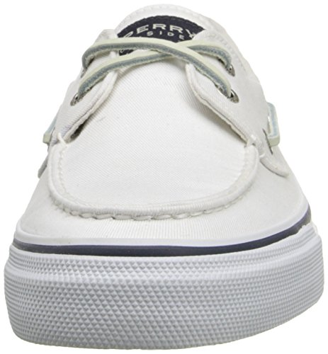 Sperry Bahama Canvas, Mocassini da uomo bianco