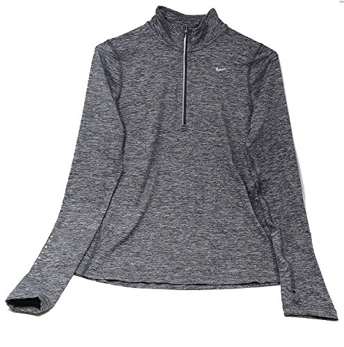 Nike Women's Dry Fit Element Half Zip Running (Half Zip Running Top)