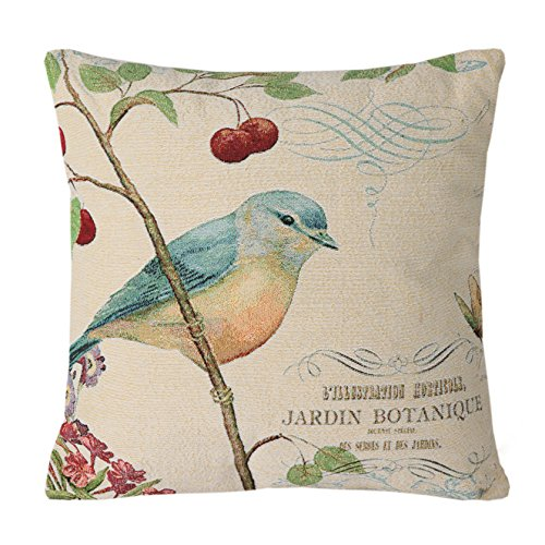 Shop for bird throw pillows at Shop Better Homes & Gardens. We have amazing deals on bird throw pillows from all around the web. Spruce up any couch, bed or furniture item with this vintage 18 x 18, Bird And Fish, linen throw pillow cover. Please note that th.