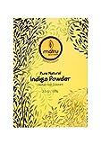 MATRU AYURVEDA Indigo Leaves powder Hair/Bearde, Color; 100% Pure Natural and Chemical Free Bestseller Hair and Beard Color/Dye, 100gms/3.5 oz, Ayurvedic/Herbal hair color