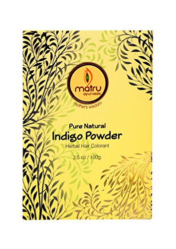 o Leaves powder Hair/Bearde, Color; 100% Pure Natural and Chemical Free Bestseller Hair and Beard Color/Dye, 100gms/3.5 oz, Ayurvedic/ Herbal hair color (Henna Leaf Powder)