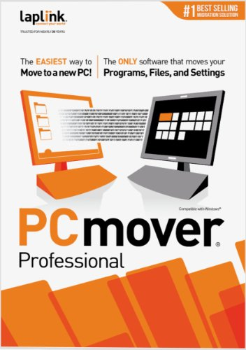 Laplink PCmover Professional 8 - 10 Use [Download]