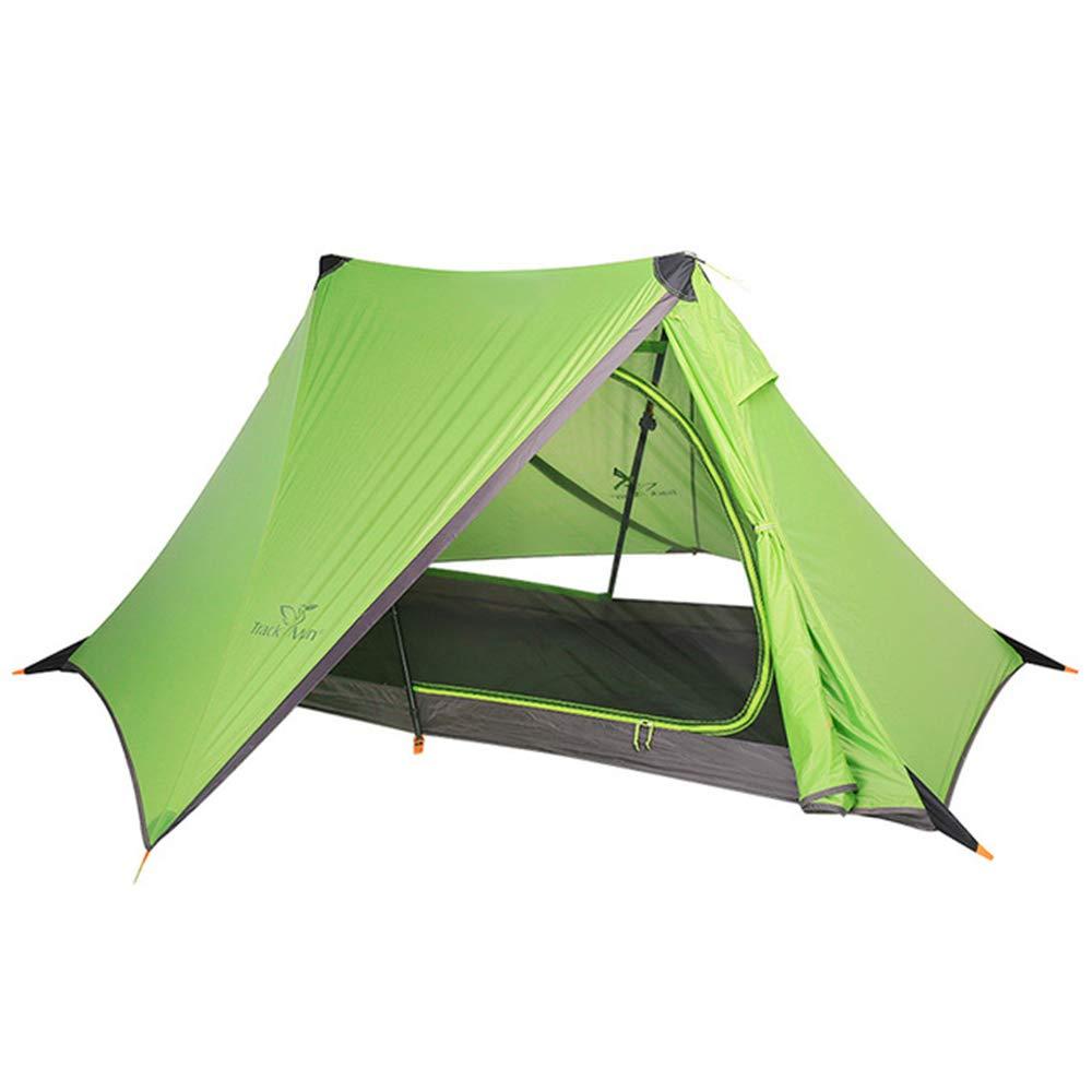 FHGJ 1 Person Ultraleicht 3 Saison Anti Regen Tragbare Wandern Radfahren Trekking Reise Strand Angeln Outdoor Camping Zelt