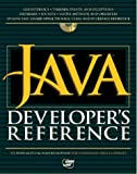 img - for Java Developer's Reference book / textbook / text book