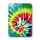 lsp_14276_1 Sandy Mertens Color Designs - Tie Dye Art 1 - Light Switch Covers - single toggle switch