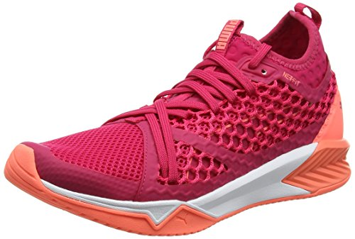 Puma Ignite XT Netfit, Chaussures de Fitness Femme Rose (Love Potion-nrgy Peach)