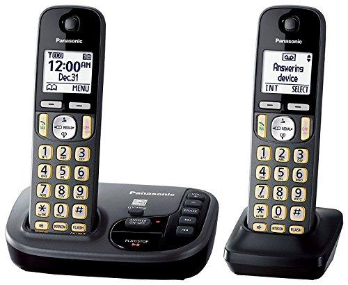 panasonic-kx-tgd222m-cordless-phone-with-answering-machine-2-handsets-certified-refurbished-kx-tgd22