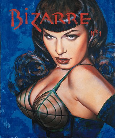 Bizarre 1 Limited Edition Giclee Print Signed by Olivia De Berardinis