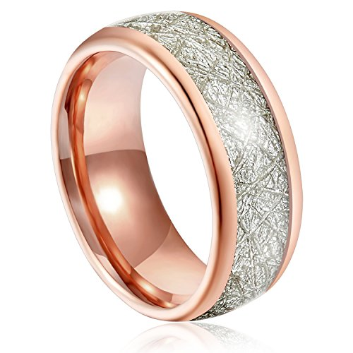 Gold High Polished Domed Ring - 6