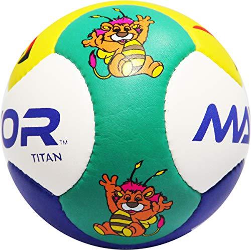 Mayor Titan Tiger PVC Football, Size: 1  Multicolour
