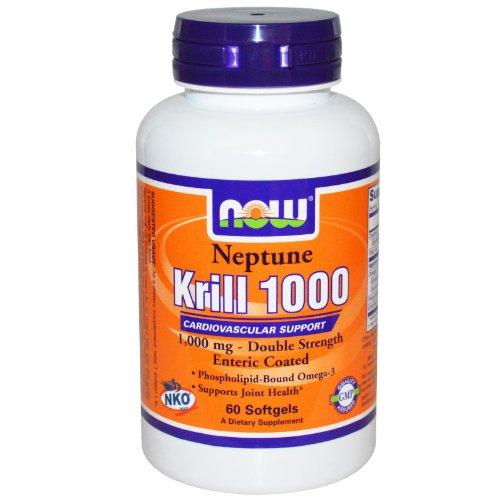 Foods Krill Neptune 1000 Softgels