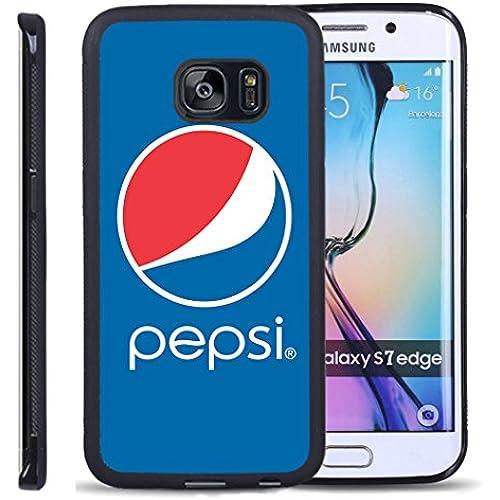 S7 Edge TPU Case,Pepsi Logo2 PREMIUM BUMPER Bumper Style Premium Case Slim Fit Dual Layer Protective Cover for Sales