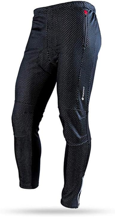 OLEEKA Pantalones de bicicleta impermeables Mallas de ciclismo de ...