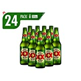 Cerveza Clara Dos Equis Lager 24 Pack Botella 355 Ml