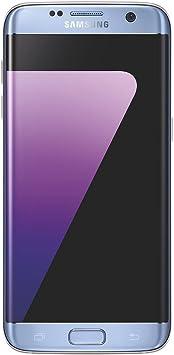 Samsung Galaxy S7 Edge, Smartphone libre (5.5, 4GB RAM, 32GB, 12MP) [Versión francesa: No incluye Samsung Pay ni acceso a promociones Samsung Members], color Azul: Amazon.es: Electrónica