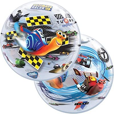 "22"" Turbo Racing League Character Bubble Balloons: Toys & Games"