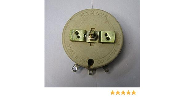 150W50OHM Hochleistungsdrahtwiderstand Potentiometer Rheostat variableWiderstand